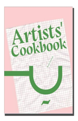 Artists' Cookbook explores the cultural contexts and rituals surrounding cooking and eating. Whether dining alone, with friends, or in the vicinity of strangers, the act of eating represents a marker of performed identities.