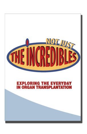 Not Just The Incredibles was a research project exploring the everyday aspects of organ transplantation, that ran from early 2016 to late 2017 (with breaks due to illness). It was initiated and facilitated by artist Tim Jeeves who himself had a bone marrow transplant in 1998.