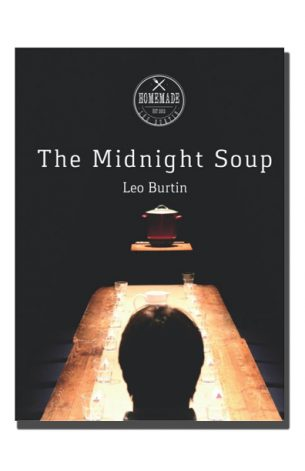 The Midnight Soup tells the story, of an unremarkable woman, who every day, sat down to meticulously record the facts of her life in a diary, until one summer day, she chose her own death. The Midnight Soup is the love letter of a grandson to his grandmother. It is also an edible memorial, celebrating a life lived to the rhythm of the seasons.